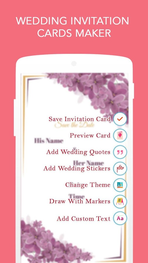 Wedding Invitation Cards Maker Android Apps on Google Play – Marriage Invitation Card Text