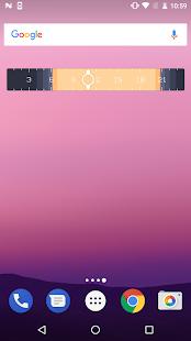 SunClock Widget (Demo) - náhled
