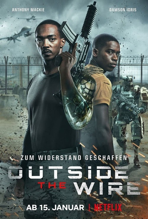A descubierto (Outside the Wire)