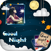 :Good Night Photo Frames - Good Night Kiss Images