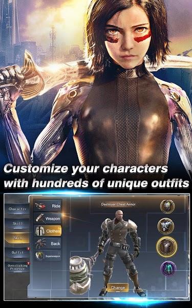 Alita: Battle Angel - The Game Screenshot Image