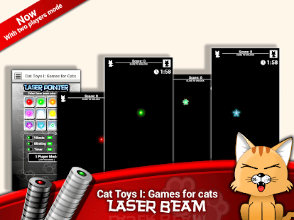 Cat Toys I: Games for Cats Screenshot