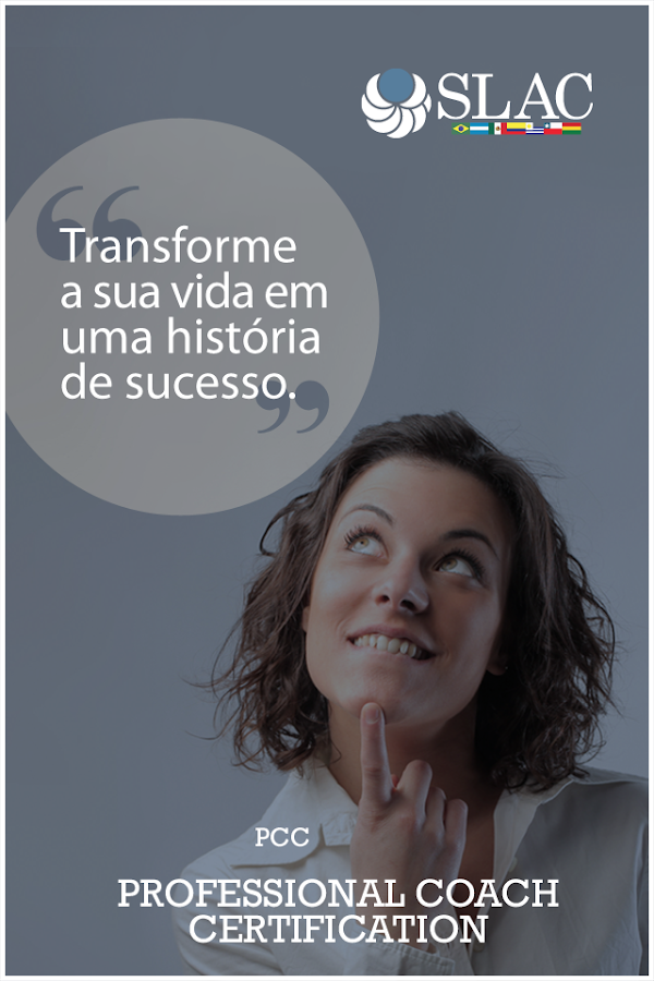 Slac Coaching: captura de tela