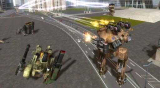 戦争のためのガイド ロボット