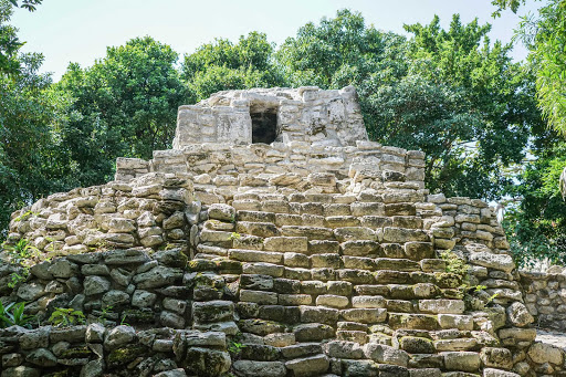 See Maya ruins during a day trip from Cancun, Mexico.