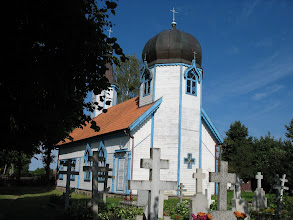 Photo: Orthodoxe Kirche in Wojnowo