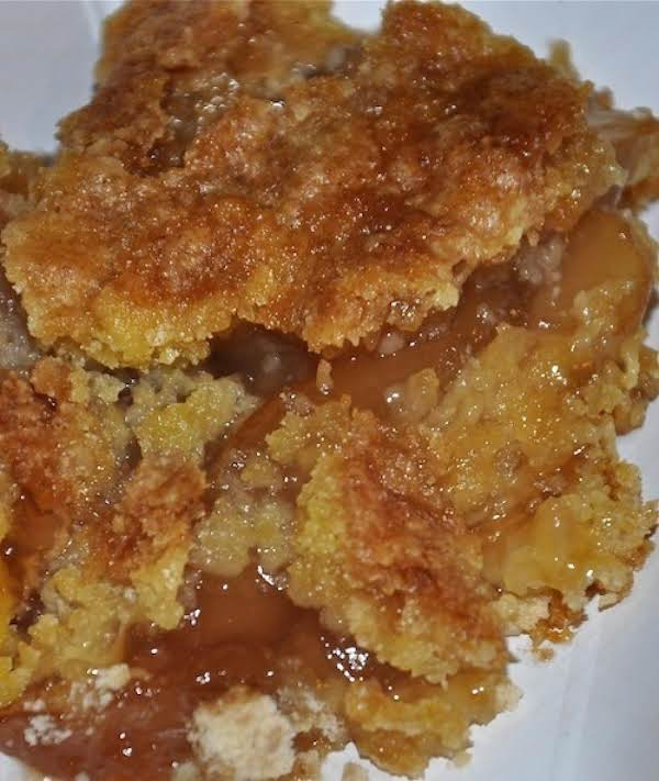 Apple Cake Cobbler