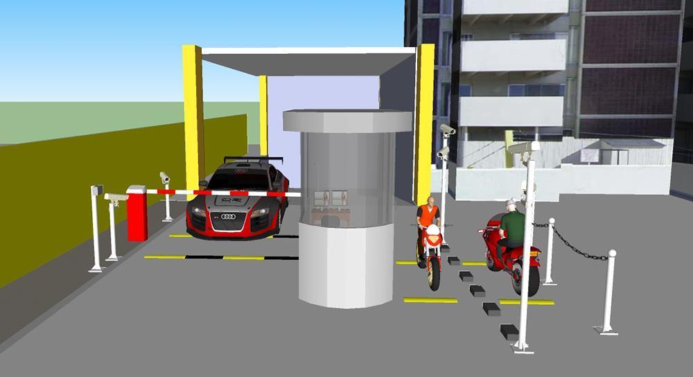 Giải pháp bãi giữ xe thông minh bằng công nghệ thẻ từ - Megatech