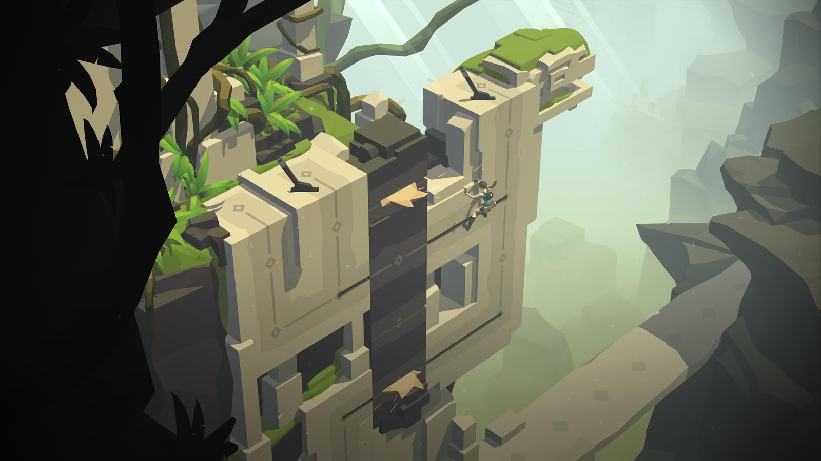 Lara Croft GO- screenshot