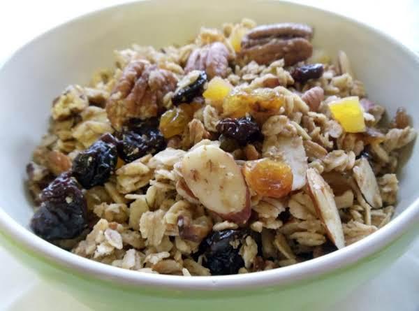 Maple Pecan Crunch Granola Recipe