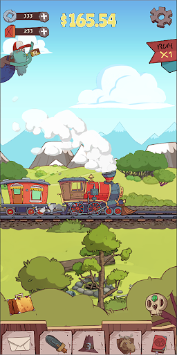 Idle train tycoon 1.0.2 screenshots 1
