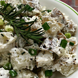 Rosemary Parmesan Greek Yogurt Potato Salad