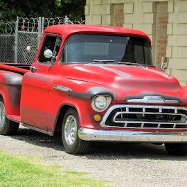 Like A Rock by Rick Covert - Transportation Automobiles ( hot rod, classic, truck, arkansas, antique, arkansas photographer,  )