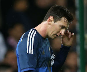 L'Argentine cale d'entrée, Messi exaspéré