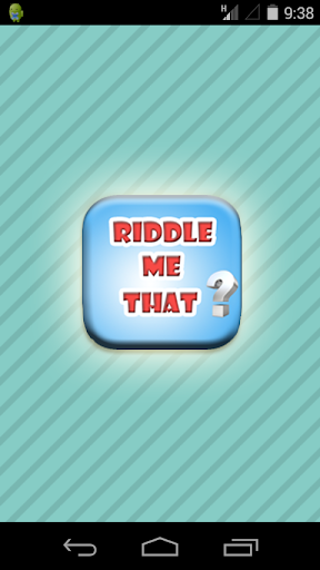Riddle Me That Game