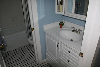 Photo: Upstairs Hall Bathroom