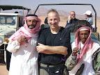 Dean hangs with his 'peeps' in Wadi Rum
