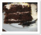 slice b-day cake