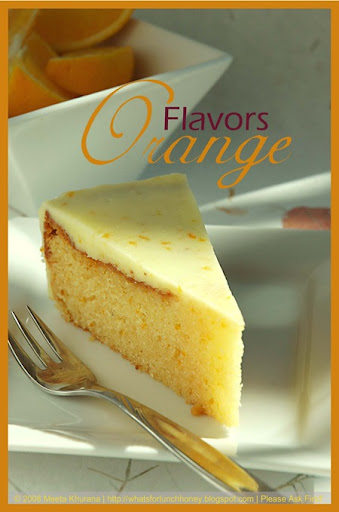 Orange Cake (03) by MeetaK