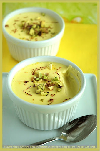 Saffron Cardamom Panna Cotta (14) by MeetaK