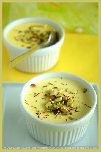 Saffron Cardamom Panna Cotta (13) by MeetaK