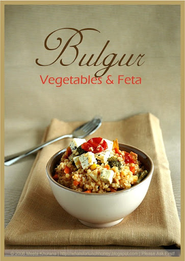 Bulgur Mixed Veg and Feta (01) by MeetaK