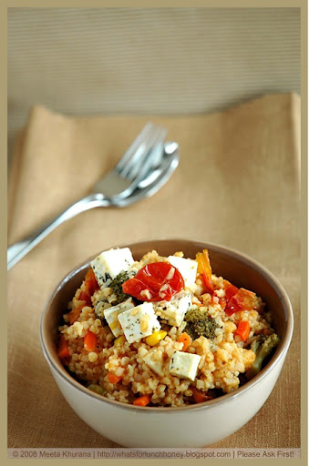 Bulgur Mixed Veg and Feta (02) by MeetaK