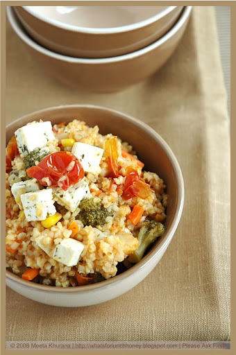 Bulgur Mixed Veg and Feta (03) by MeetaK