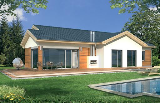 projekt Agatka wersja B dach 32 stopnie