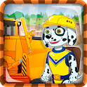 Puppy Patrol Games: Building Machines icon