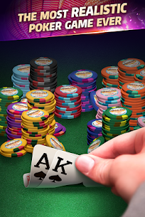 Mega Hit Poker: Texas Holdem massive tournament App Latest Version Download For Android and iPhone 8