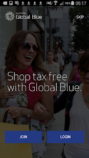Global Blue- screenshot thumbnail