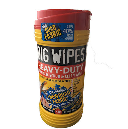 BIG WIPES Heavy Duty  80 st dukar