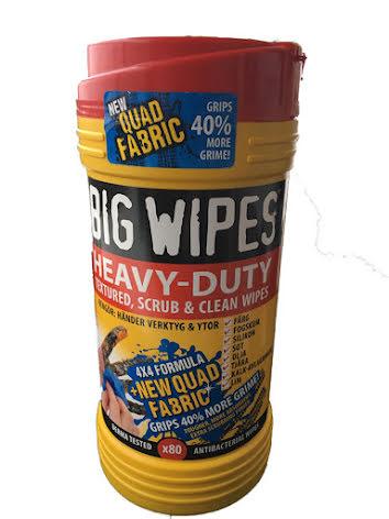 BIG WIPES Heavy Duty  80 st dukar