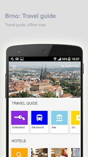 Brno: Offline travel guide - náhled