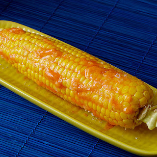 Corn on the Cob with Smoky Sriracha Butter