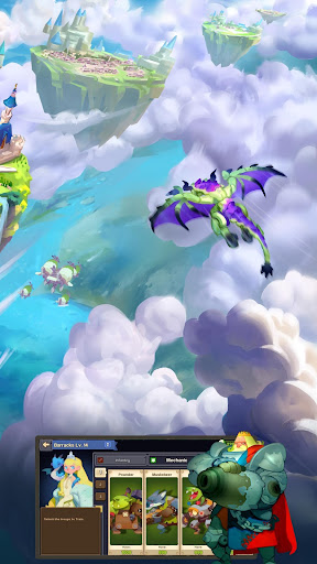 Sky Kingdoms: Dragon War 1.1.0 gameplay   by HackJr.Pw 20