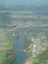 Photo: This is the Schachen Insel in the Aare http://www.swiss-flight.net