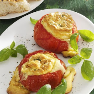 Baked Stuffed Tomatoes.