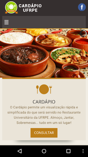 Cardápio UFRPE Gourmet