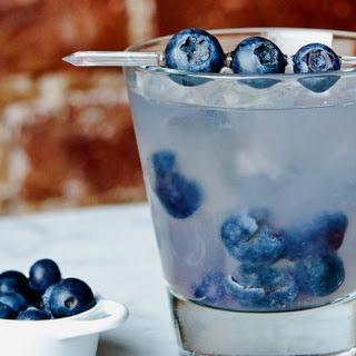 Blueberry Basil Margarita.