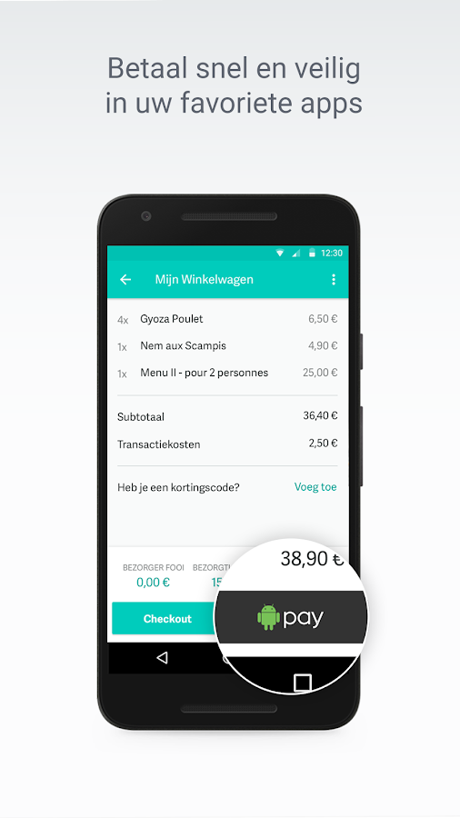 how to pay on android enjoyee