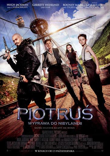 Przód ulotki filmu 'Piotruś. Wyprawa Do Nibylandii'