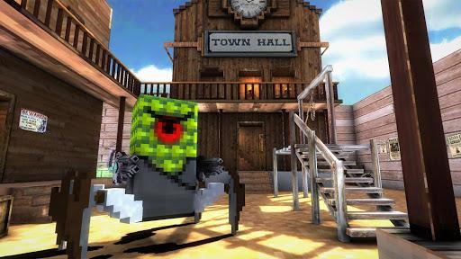 Block Gun 3D: Aliens Cowboys