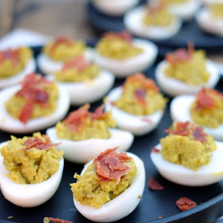 Mayo Free Deviled Eggs