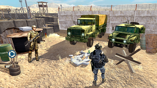 US Army Transport Drive - Army Games screenshots 3