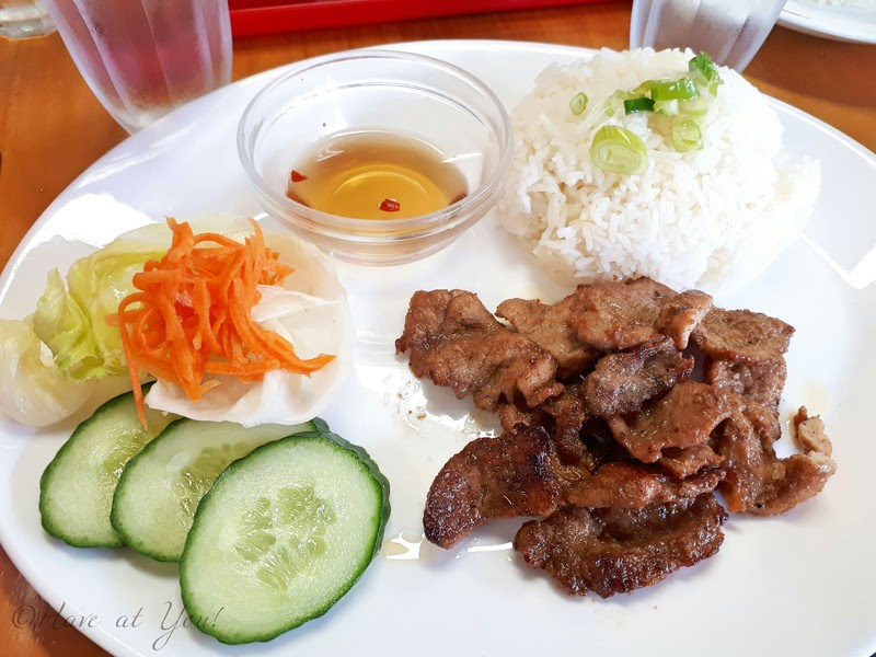 grilled pork with rice