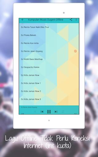 DJ Dugem Terbaru House Remix 2018 OFFLINE 1.0 screenshots 9