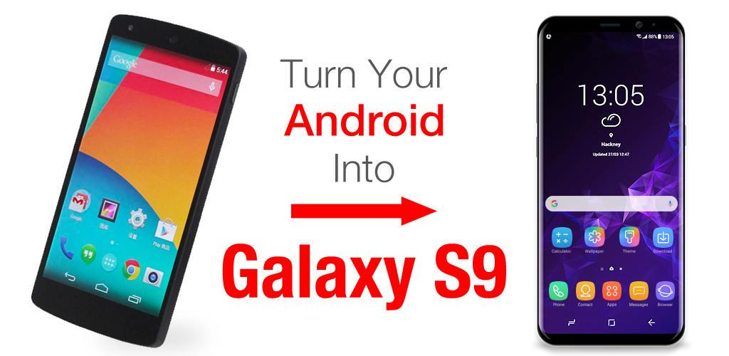 Download S9 Galaxy Launcher for Samsung APK latest version