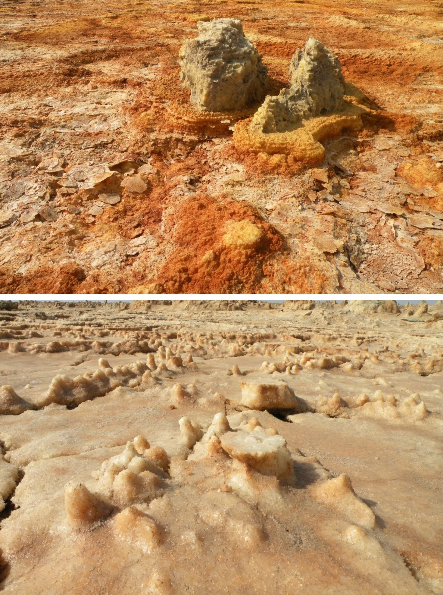 Details of the Dallol landscape